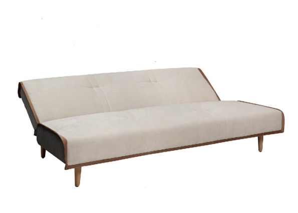 Fashion Embossing Decent Sofa Bed / Single Bed Sofa Bed For Young People