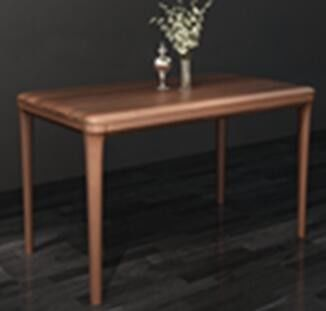 Eco - Friendly Material European Solid Wood Furniture / Solid Wood Dining Table