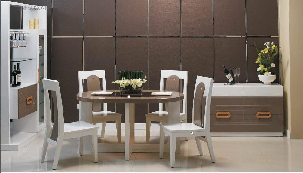 Modern Style Contemporary Dining Room Furniture Succinct And Unpretentious